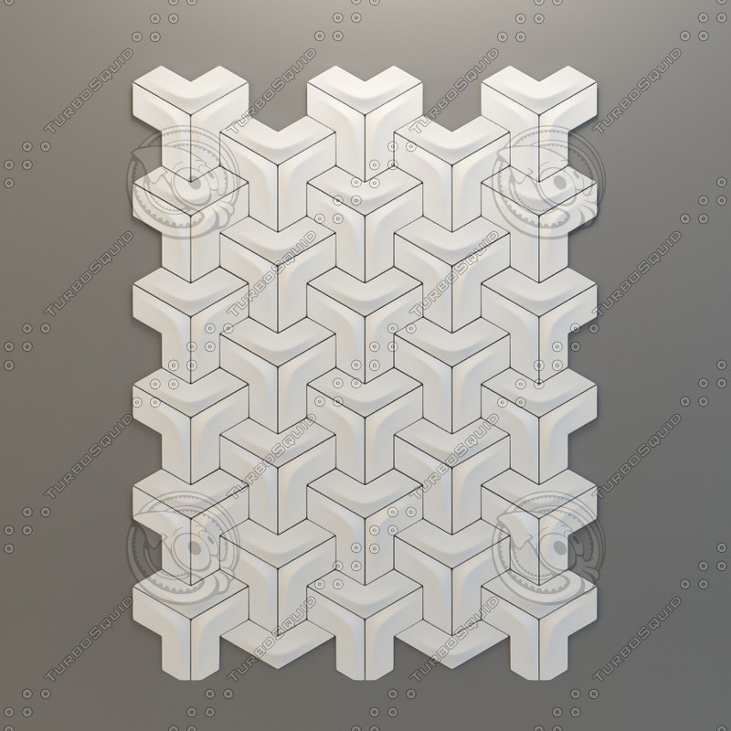 ceramic tile versatile arc 3d obj