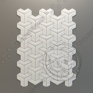 ceramic tile versatile arc 3d obj