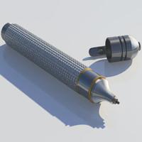 3d model tire air gun