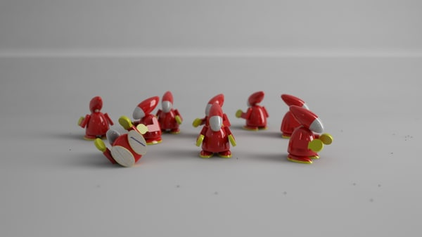 toys soldiers 3d x