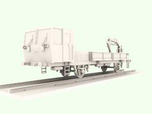 free 3ds model polish trolley