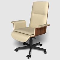 3d obj office chair