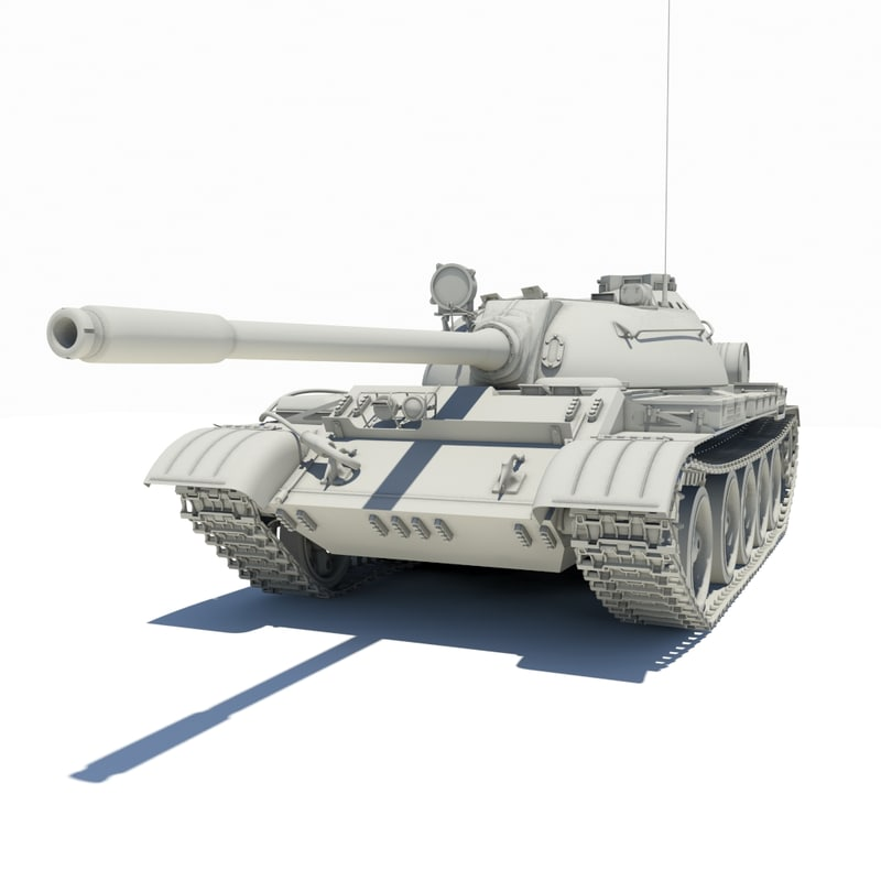 3ds max tank t-55