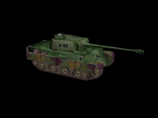 3d tank panzer kampfwagen