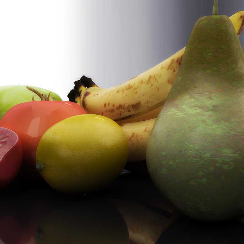 fruit 3d model
