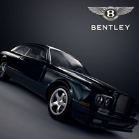 3d model bentley continental r coupe
