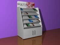 display stand 3d model