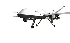 mq 9 reaper drone 3d model