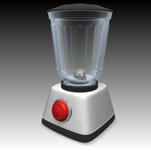 3d model of food mixer