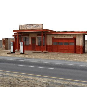 lwo classic gas station