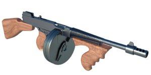 obj thompson machine gun