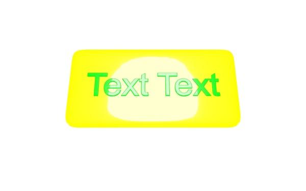 text sing 3d model