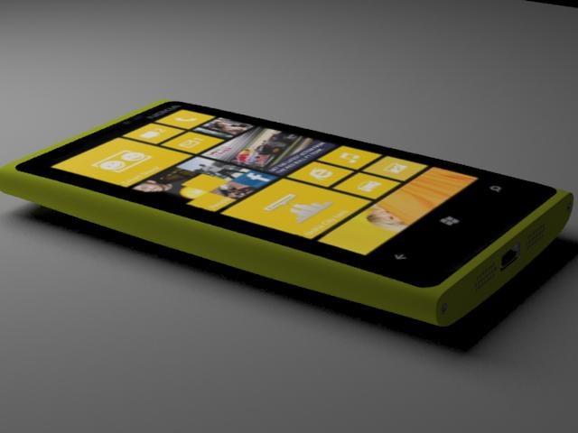 nokia lumia 920 3d max