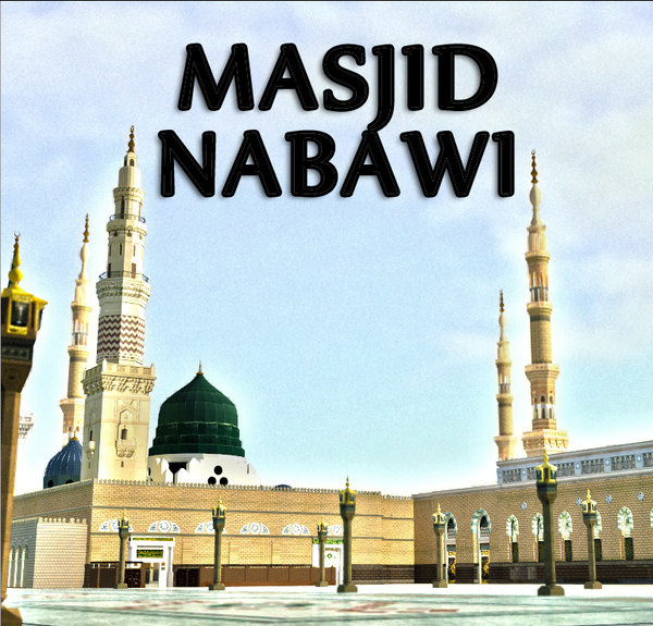 prophet masjid nabawi 3d model