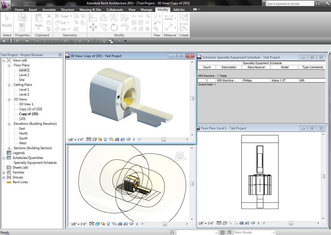 revit philips intera 1t max