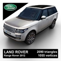 3d 3ds 2012 land rover range