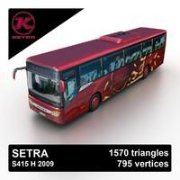3d 2009 setra s415 h