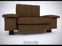 couch sofa 3d obj