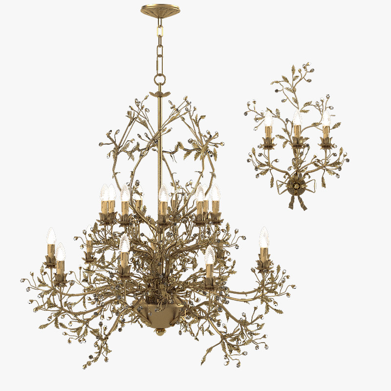 3d model mechini l202 522 chandelier