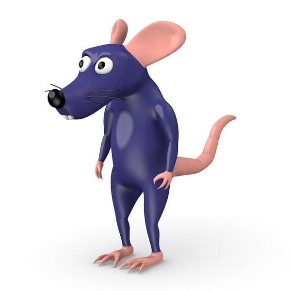 3ds cartoon rat