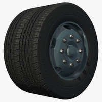 rear wheel dual axle heavy duty