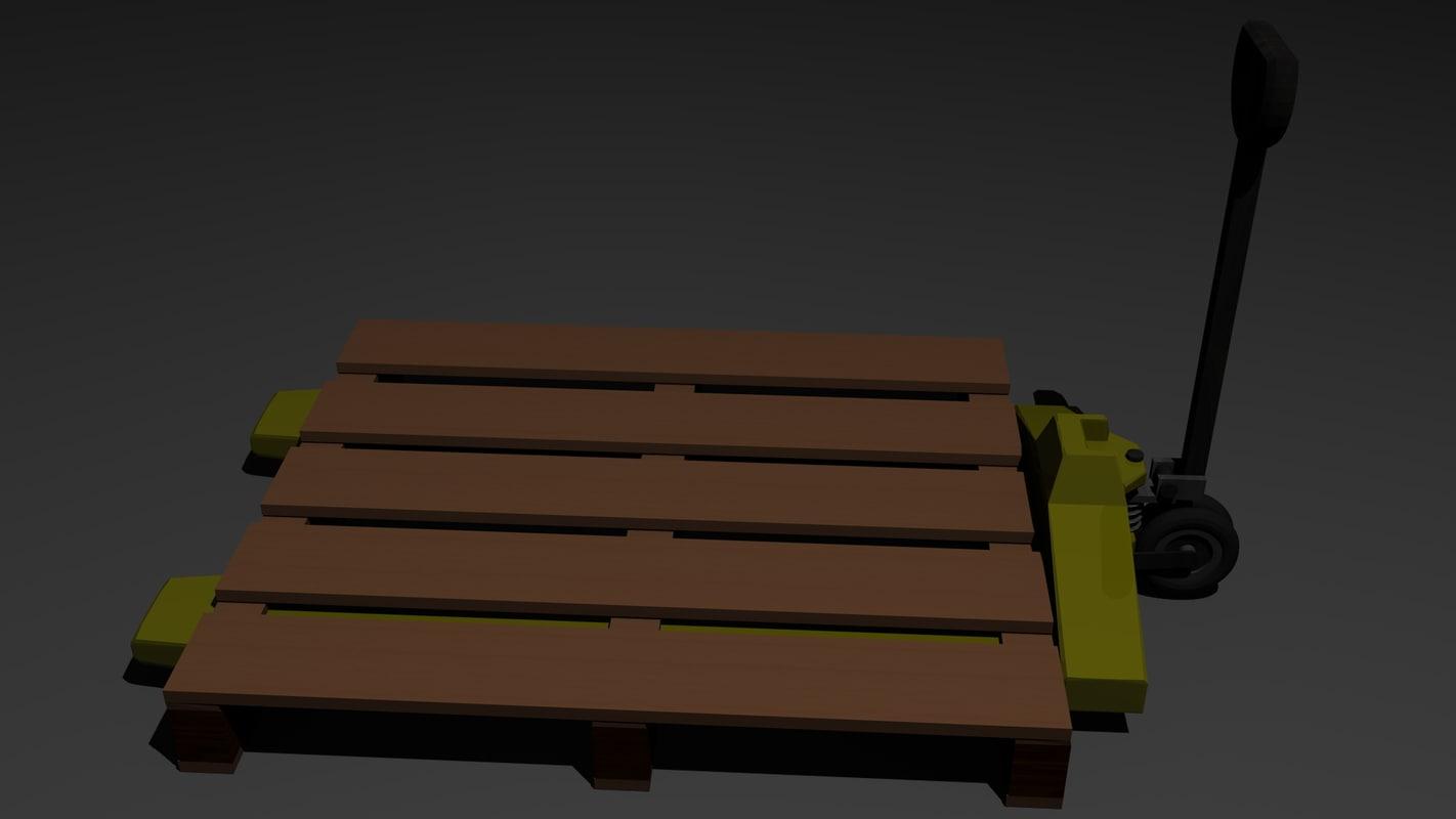 3d pallet truck