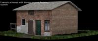 3d barn house model