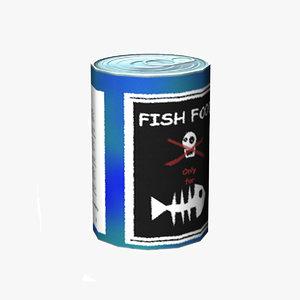 fish food 3d model