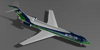 3d air florida 727-200