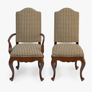 3d century lawrence arm chair