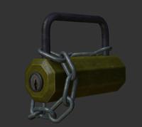 lock chain obj