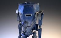 old robotic tank 3d lwo