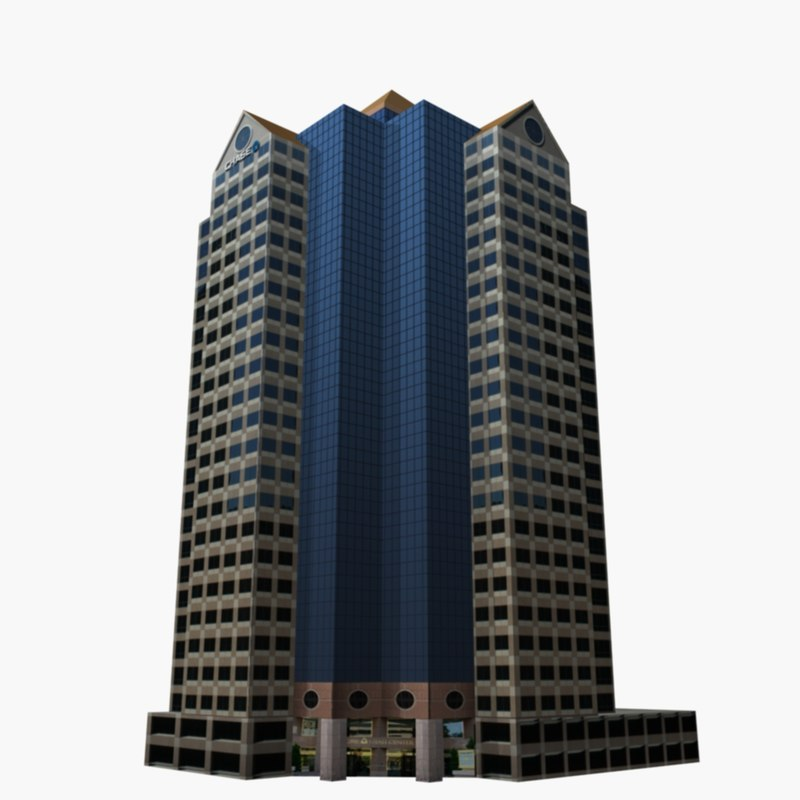 3d model utah skyscraper building
