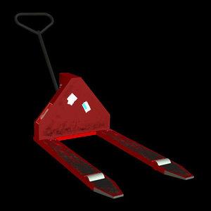 3d pallet jack model