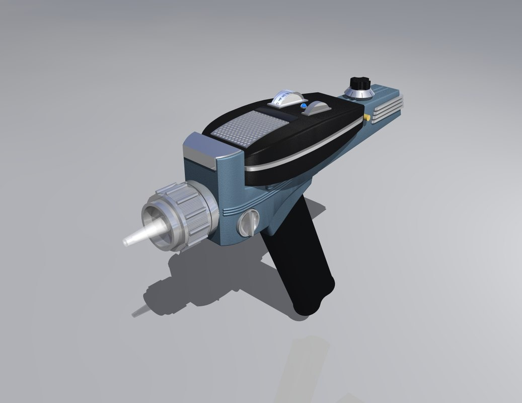 obj star trek phaser