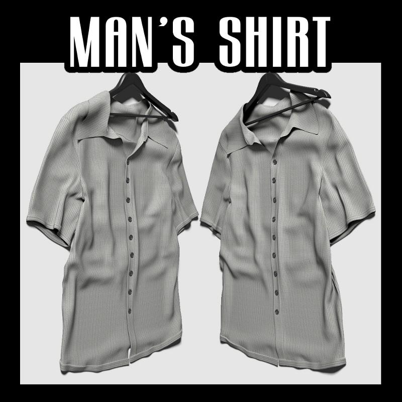 3d lain man s shirt
