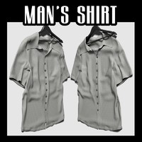 3d lain man s shirt