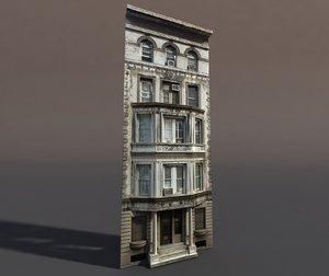 building exterior modeled 3d 3ds