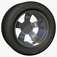 rear rim wheel stock