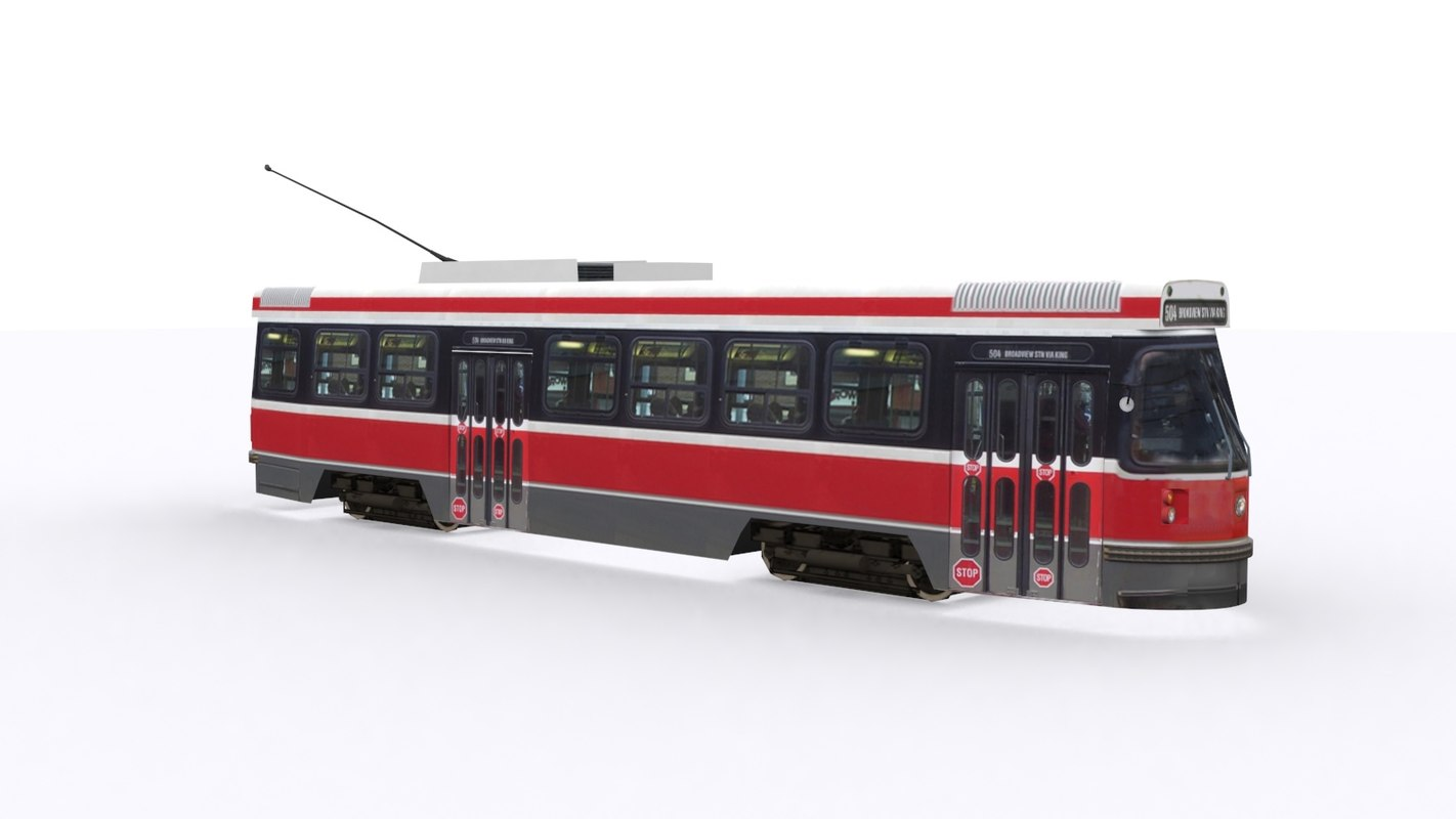 3d canadian light rail