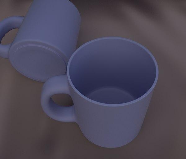 free obj mode mug