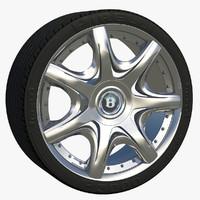wheel rim c4d