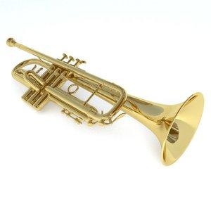 3ds max trumpet yafaray