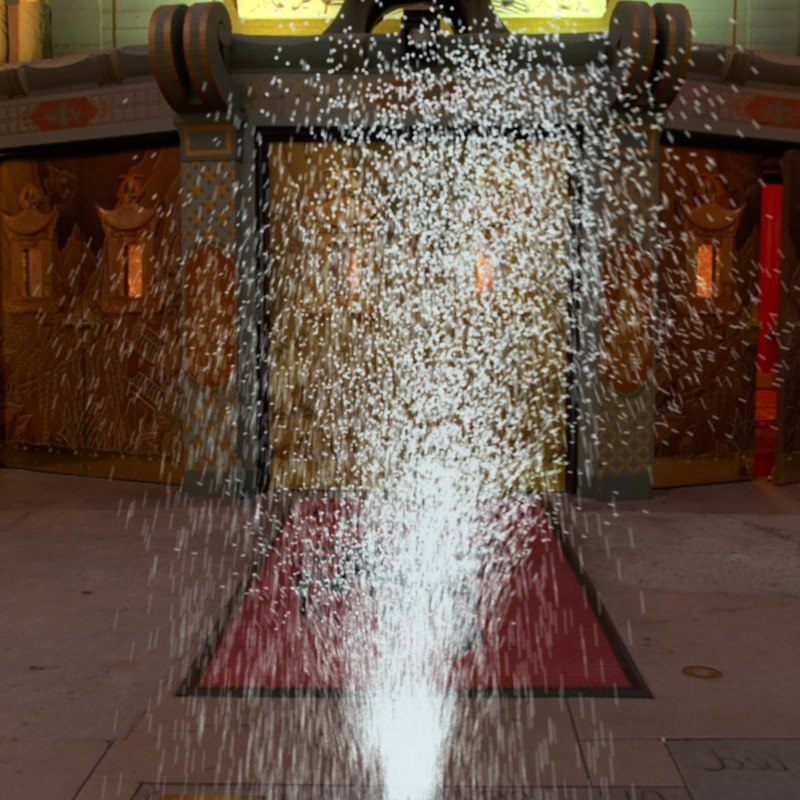 ma animation water jet fountain