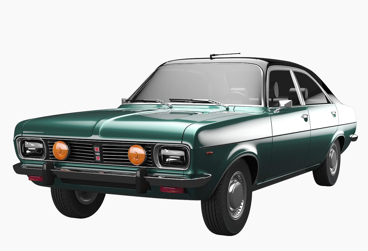 realistic chrysler simca 160 3ds