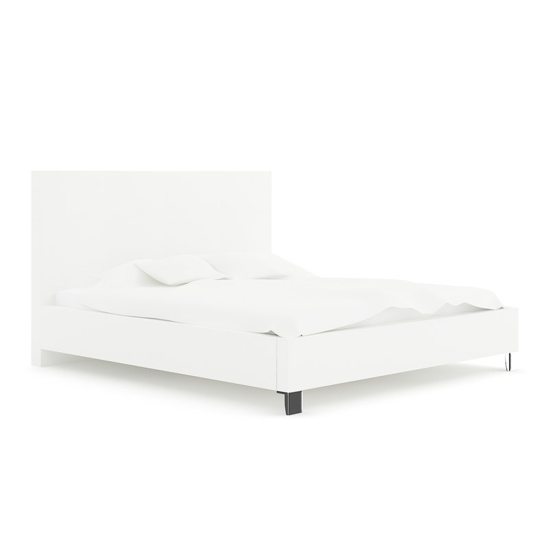 bed white x