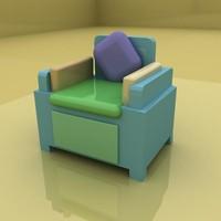 custom sofa 3d max