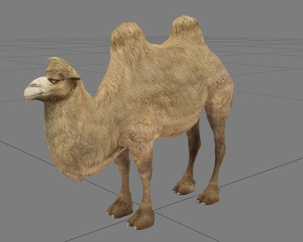 camel 3d max
