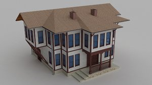3ds max historic house