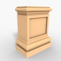 Plinth Block 003